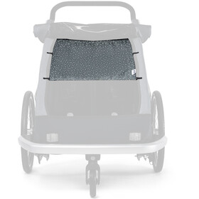 Croozer Cache soleil pour Kid Vaaya 2, graphite blue/white